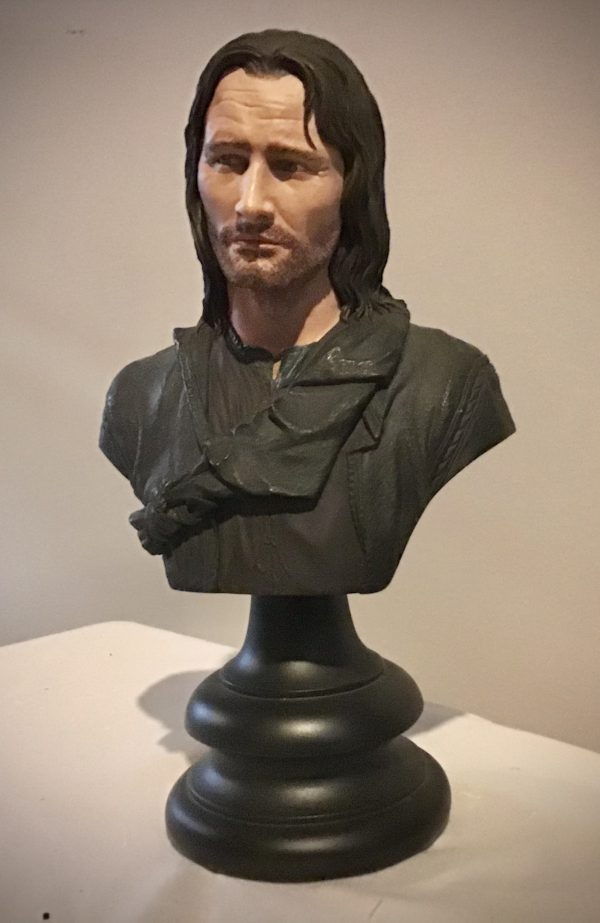 Aragorn Bust Image Front